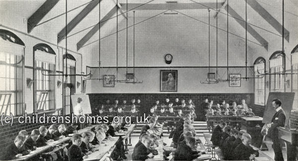 Knitting Room Birmingham : Industrial school for boys ansell tennal