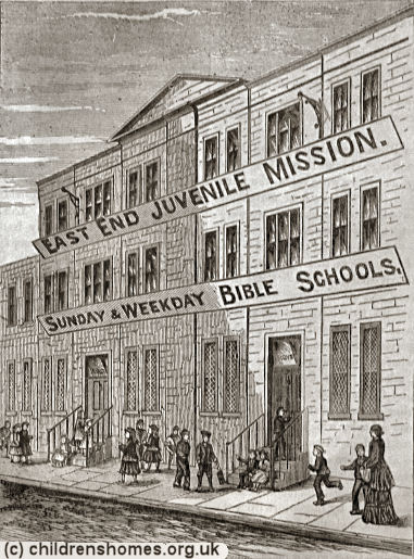 Copperfield Road Ragged School, Mile End, London