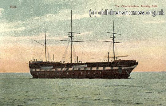 Humber Industrial School Ship 'Southampton', Hull, East